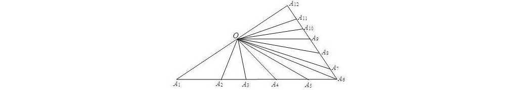 六年级奥数题及答案:数三角形
