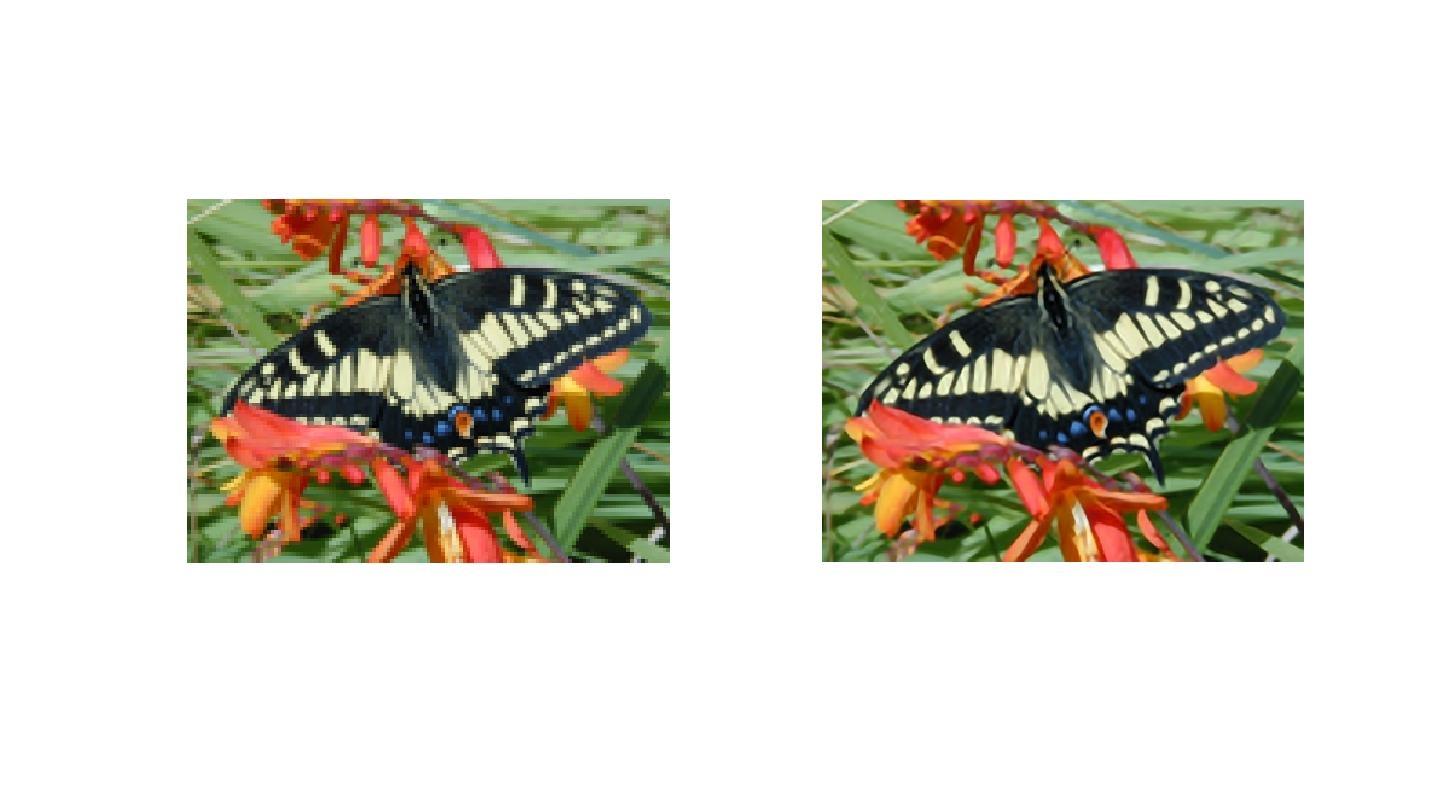 matlab实现单幅图像超分辨率重建